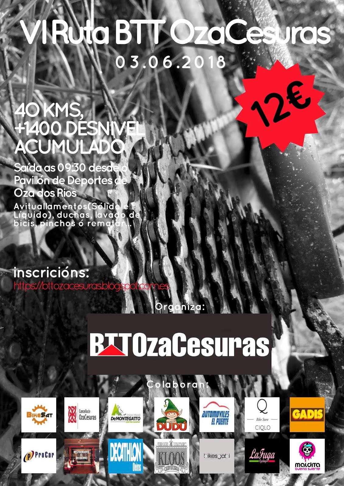 Cartel 6ª Ruta Btt OzaCesuras (5)